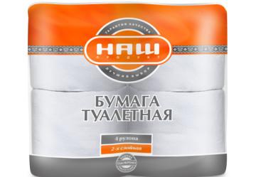 Туалетная бумага «Наш продукт»