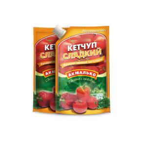 Кетчуп «Акмалько» Сладкий