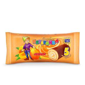 Мини — рулет «Сладкая пятерочка» абрикос