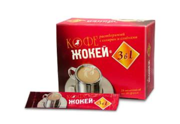 Кофе Жокей 3 в 1